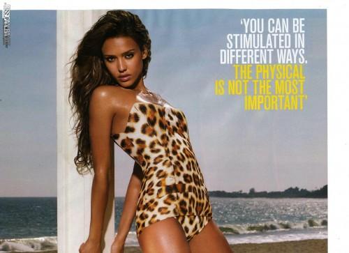 Jessica Alba для журнала GQ (август 2007)