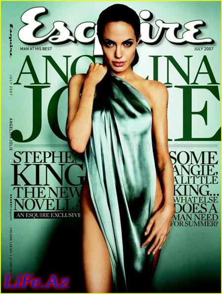 Анджелина Джоли - Angelina Jolie - Esquire, July 2007