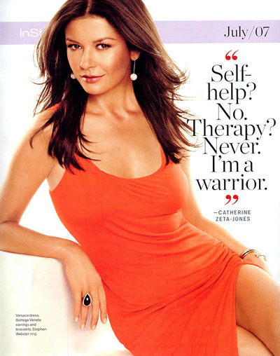 Кетрин Зета-Джонс - Catherine Zeta-Jones InStyle [5 Сканов]